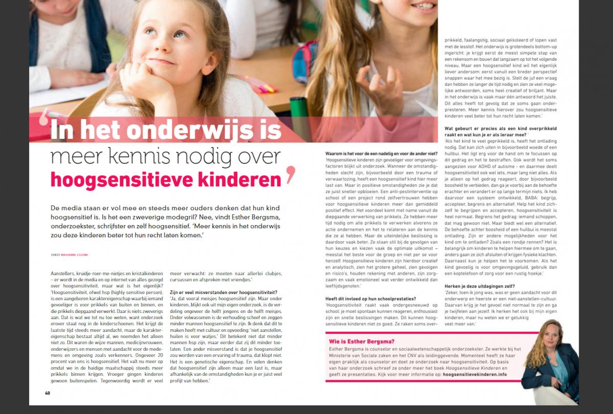 Interview PrimaOnderwijs