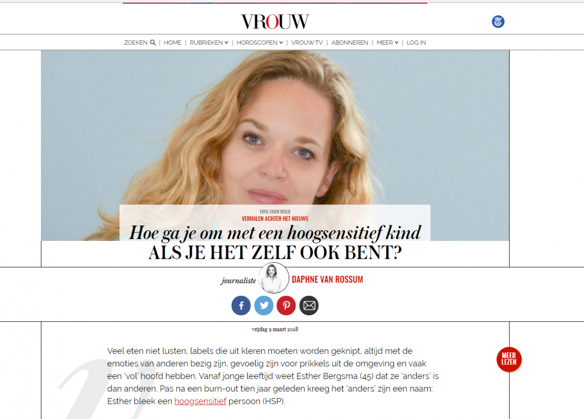 Interview Vrouw.nl